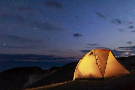 camping ireland
